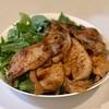 豚の生姜焼き&サラダ&切り干し大根の煮物