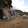 【ファミリーキャンプ】オレンジ村オートキャンプ場 初ランドロック、ジカロ、シングルバーナーで盛だくさんの2017年2月レポ