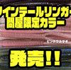 【EVERGREEN】幅広く使用出来るワームのオリカラ「ツインテールリンガー4.7インチ 問屋限定カラー」発売!