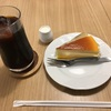 CAFE梅の木のチーズケーキが美味!