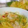 Shrimp Aglio e Olio 〜 エビのペペロンチーノ 〜