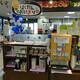 朝食会場は併設コンビニのイートイン・コーナー、「西鉄イン高知 はりまや橋」