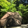 DODヤドカリテントでとやの沢キャンプ場ฅ( ̳> ·̫ < ̳ฅ)
