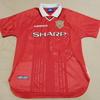 ユニフォーム その224 マンチェスターユナイテッド 1998-1999シーズン ホーム用 チャンピオンズリーグ用 半袖