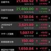 祝13連騰!日経絶好調も保有株は大幅マイナス。