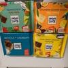 輸入菓子:リッターチョコ:オートクッキー/ココナッツワッフル/ヨーグルト・ハニー・ナッツ/マンゴー・パッションフルーツ/アーモンド全体/エーデルミルク/コーヒー豆のチップ