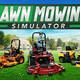 【Lawn Mowing Simulator】芝刈り機シムの体験版をプレイ【Steam Next Fest】