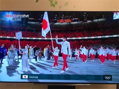 オリンピック開幕〜東京タワーとゲートブリッジがオリンピックカラーに〜