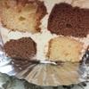 2/3  今日のおやつは 激マズと 言われて もらった ケーキだよ