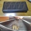 FENDI/フェンディの長財布の修理;「小銭を入れるところの布が破れているので修理可能か見て下さい」   ・・・K's factory