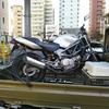 #バイク屋の日常 #ホンダ #VTR250 #レッカー #エンジン不動