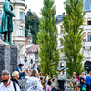 スロベニア・リュブリャナ観光、市街地編の話。