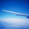 機上のブルー