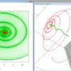 その2〜射影幾何的に円を使ってスプライン曲線