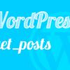 query_postsは非推奨?代わりにget_postsで条件指定!投稿を取得する方法【WordPress】