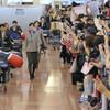 五輪メダリストが会見、吉田主将「全力出した」