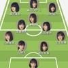 乃木坂46 2期生 サッカーフォーメーション