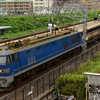 第1274列車 「 青ゴトー牽引のレール輸送列車を狙う 」