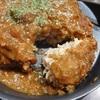 松のや、「松のやごちそうハンバーグ(特製ソース)」は揚げてあるはずなのに完全にハンバーグ。めっちゃ美味しいよ(^^)/