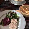 日仏学院のレストランでランチ。フランス人と国際交流をはかってみた!