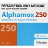 アモキシシリン(Amoxicillin)250mg[Mylan社製]