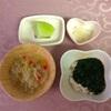 お野菜からの離乳食  [128日目 キュウリと大根のひえ麺]