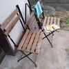 【ドケチと家】庭にベンチを設置しておうちカフェ化する