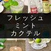 【定番は2つ】自宅で作れるミントカクテルのレシピ