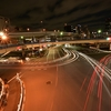 🌃飯田橋歩道橋でスロー撮影🚘