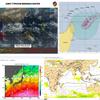 【台風27号のたまご】インド洋に(TC03S『ALCIDE』・93S)と2つの台風のたまごが存在!米軍・ヨーロッパ中期予報センターの進路予想では今のところ『越境台風』とはならず、台風27号とはならない見込み!