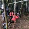 おおだか里山開拓隊秋コース第3回~ターザンロープ完成!