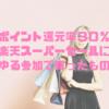 【ゆる参加でもP還元率30%】楽天スーパーセールで買った物