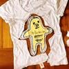 空耳アワーでおなじみの安斎肇さんのイラストTシャツをリメイク、ぬいぐるみに作り替えました