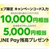 LINEモバイルで1万円でキャッシュバックキャンペーン!!