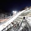 夜の大倉山ジャンプ競技場&表彰式とか雑記…