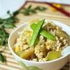 「ナスをたっぷり」ナスとひき肉のトロトロ卵とじ丼の簡単レシピ