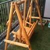 【コト】庭にブランコ 完全完成!春の庭もちょびっと紹介
