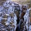 氷瀑を見に、再度紅葉谷へ(その1)七曲滝