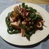 すぐ出来る‼イカの醤油炒めと常備菜/えのきオクラ