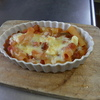 幸運な病のレシピ( 297 )昼:ミネステローネ、後片付け、ペンネグラタン、朝は目玉焼きに豚バラ