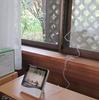 室内外の温度計、湿度計