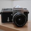 Nikon FとAuto Nikkor 24mm/F2.8を買った