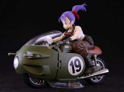 本日発売!Figure-rise Mechanics ブルマの可変式No.19バイクのご紹介!