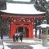 比叡山「延暦寺」東塔地域(雪降る中)