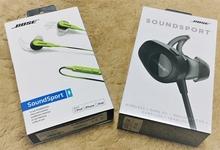 Boseのワイヤレス&ノイズキャンセル インイヤーヘッドホン。音と使いやすさを比較してみます