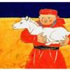 スーホの白い馬 ちひろ美術館・東京の展示より