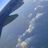 翼からの景色。