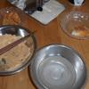 昨日ついた餅できな粉餅自作