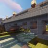 【Minecraft】石のアーチ橋を架ける【砂漠の村をリメイクするよ 5】