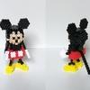 【アイロンビーズ3D】ディズニーキャラクター、ミッキーマウス